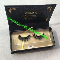 Beauty Essentials Crown Lashes 3d Mink Eyelashes Custom Eyelash Packing Box Eyelashes Vendor A Wide Selection Of Colours And Designs Beauty & Health