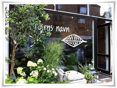 "flower shop | "" I rosens navnin"" | charlottenlund."