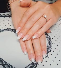 Babyboomer nails is the new modern French manicure - living ideas and decoration. - Babyboomer nails is the new modern French manicure – living ideas and decoration – Babyboomer - French Manicure Designs, Gel French Manicure, Almond Nails Designs, Ombre Nail Designs, Acrylic Nail Designs, Nail Manicure, Manicure Ideas, Polygel Nails, Fall Nails