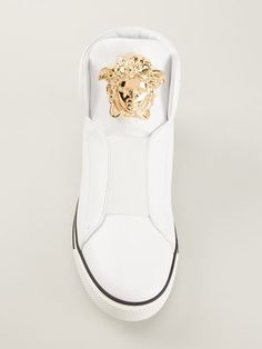 Shop Versace Medusa hi-top sneakers in Elite from the world's best independent boutiques at farfetch.com. Over 1000 designers from 300 boutiques in one website.