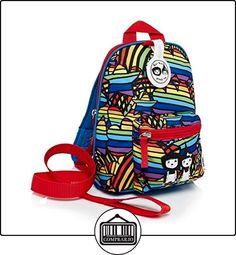 Babymel Mini mochila con desmontable arnés de seguridad/riendas a partir de 1-4años-cremallera & Zoe gama Rainbow Multi  ✿ Seguridad para tu bebé - (Protege a tus hijos) ✿ ▬► Ver oferta: http://comprar.io/goto/B01L9EMJG8