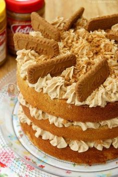 Biscoff/Speculoos Cake