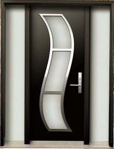 Top 50 Modern Wooden Door Design Ideas You Want To Choose Them For Your Home - Engineering Discoveries Flush Door Design, Home Door Design, Wooden Main Door Design, Door Gate Design, Door Design Interior, Front Door Design, Interior Doors, Modern Interior, Modern Wood Doors