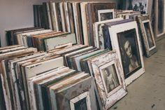 Eine neue Lieferung mit Bilderrahmen aus recyceltem Holz ist eingetroffen. Wood Framed Mirror, Recyle, Picture Frame, House