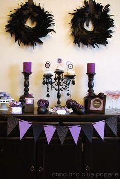 Halloween done in purple