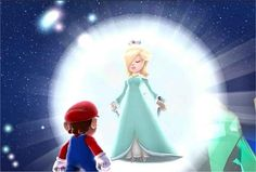 """May the stars shine down on you.""  -Rosalina"