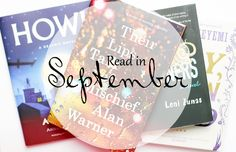 The Book Journal | UK Book Blog: Read In September.