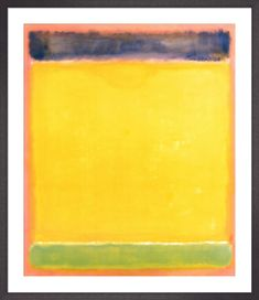 Untitled (Blue, Yellow, Green, Red) Art Print by Mark Rothko | King & McGaw