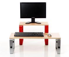 20 best monitor riser ideas images desk organizers desks rh pinterest com
