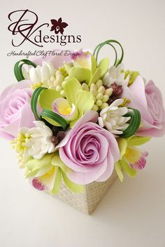greenorchidpurplerose4 by dkdesigns, via Flickr
