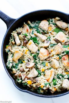 One-Pan Chicken And Rice