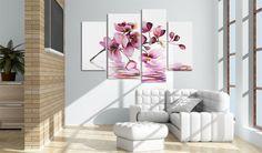 Obraz malowany 130x90 Kwiaty 22470 - artgeist - Obrazy akrylowe #painting #handmade #flower #nature