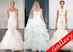 This year's Fall bridal market in New York City, which ran from Oct. Bridal Fashion Week, One Shoulder Wedding Dress, Collections, Wedding Dresses, Fall, Bride Dresses, Autumn, Bridal Wedding Dresses, Weeding Dresses