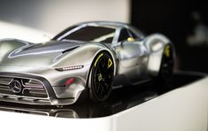 Might this Mercedes sports car design study preview AMG's Project One hypercar? http://www.motorauthority.com/news/1108571_might-this-mercedes-sports-car-design-study-preview-amgs-project-one-hypercar