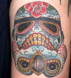 Sugar SKull Star Wars Tat