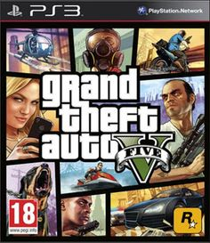 Grand Theft Auto ( GTA ) V + DLC | CFW 3.55 - 4.46 | Free PS3 ISO Download