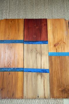 Restored Wide Plank Pine Floors Complete With Top Nails