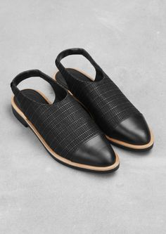 Leather slip-ons | & Other Stories