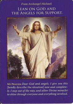 Hello Everyone ~ Card of the Day ~ Lean on God and The Angels for support. ~ This time of the year can be difficult for a lot of people for many different reasons. There may be loneliness, grief, arguements, stress,money problems, illness and much more besides. For whatever the reason please know that you are not on your own. Often the Spirit world draw close to us this time of year, they understand that they are missed and want to comfort you all. God and The Angels are ever present too.So…
