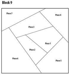 crazy quilt block pattern