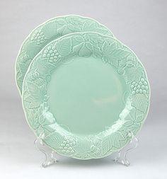 Pottery Barn Bongo (Green) dinner plate | Mosaic Art | Pinterest ...