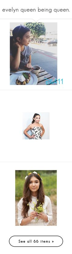 """""""evelyn queen being queen."""" by evenifwecantfindheaven ❤ liked on Polyvore featuring fans, rowan blanchard, celebrities, people, youtubers, celebs, icon, jack and finn, boys and guys"""