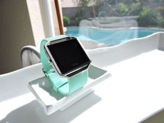 Lovely Tiffany Teal Fitbit Blaze Replacement by FitbitBracelet