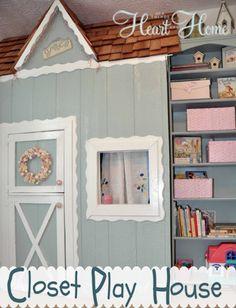 Closet Play House!