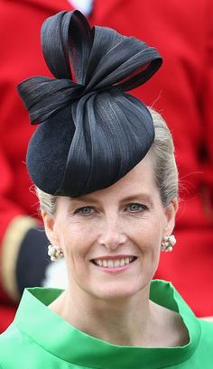 Countess of Wessex in Jane Taylor, June 15, 2015   Royal Hats