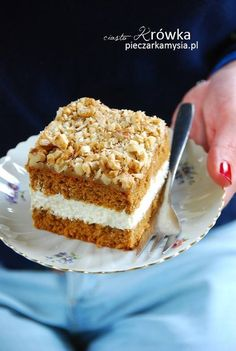 krowka Sweet Desserts, Delicious Desserts, Cake Recipes, Vegan Recipes, Tiramisu, Banana Bread, Ale, Food And Drink, Menu