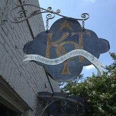 Antiques shop sign in Houston