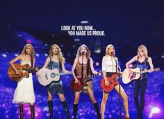 katterz77:  endin-wonderland:  What do you say when tears are streaming down your face… Because of an emotional Taylor Swift transformation edit… taylorswift  Beautiful then. Beautiful now. Beautiful forever.  taylorswift