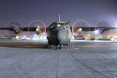 RAF C130J Hercules aircraft
