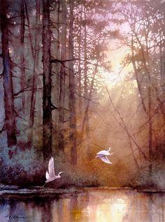 Tan Chun Chiu ~ Watercolor painter tuttartpitturasculturapoesiamusica.com