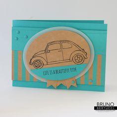 Bruno Bertucci | Stampin Up | stampinbruno | Life is a Beautiful Ride | Beautiful Ride  | Handmade Card