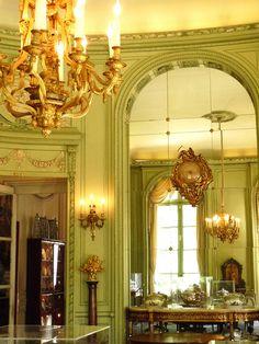 Nissim de Camondo Museum, Private Mansion, Dining Room, 63 Rue de Monceau, Paris VIII