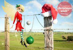 The Air New Zealand Fairy - Christmas 2012 #Christmas #AirNZFariy #Love