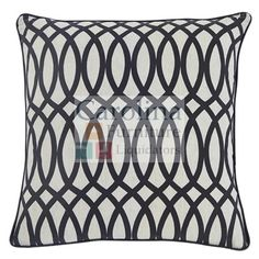 Accent Pillow Black and White  The Gate vintage casual decorative pillows will enhance your living space
