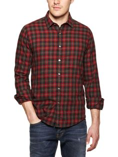 Flannel Sport Shirt by Gilded Age on Gilt.com