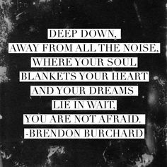 where your soul blankets your heart
