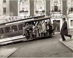 © Max Yavno  • Cable Car, San Francisco.  1947