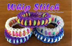 Rainbow Loom Whip Stitch Bracelet (Hook Only)
