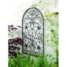 "19"" X 30"" Spanish Antique Arch Metal Garden Wall Art Home Outdoor Patio Decor #Gardman (eBay)"