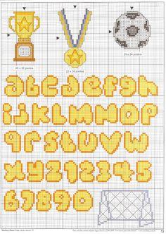 Cross Stitch: alfabeto
