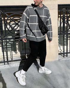 gitranegie || Best Mens Fashion, Boy Fashion, Outfits Hombre, Vans Style, Mode Streetwear, Men Street, Street Outfit, College Outfits, Mode Outfits