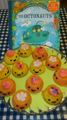 Octonauts 'kelp cakes' instead of cupcakes 6th Birthday Parties, Birthday Fun, Birthday Ideas, Octonauts Party, First Birthdays, Party Time, Cupcake Cases, Disney Junior, Boys