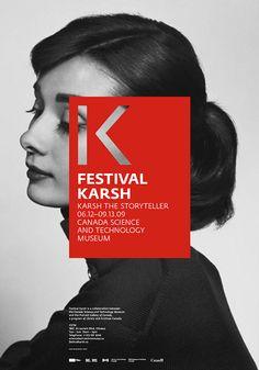 Festival Karsh by Charley Massiera, via Behance