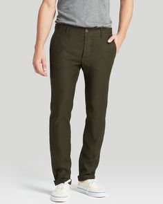 Westpoint German Cord Slim Fit Chino Pants, by Wings + Horns ($250, via Bloomingdale's)