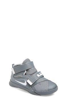 Nike 'LeBron Soldier IX' Basketball Shoe (Baby, Walker & Toddler)