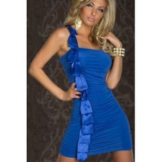 Mavi Mini Elbiseler